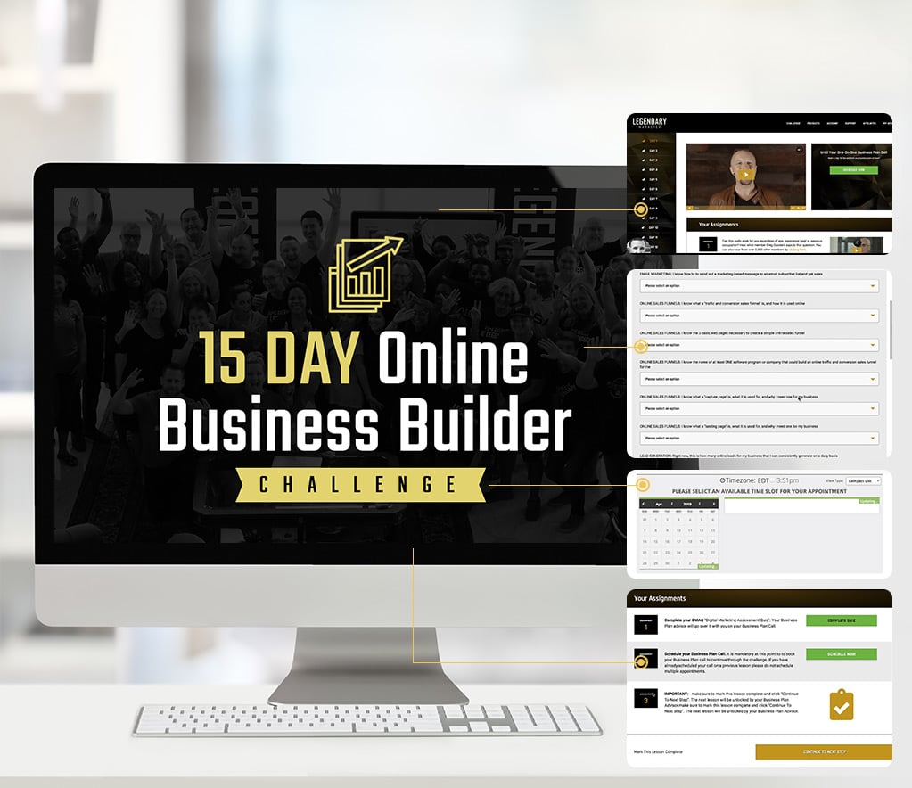 Legendary Marketer 15 Day Challenge